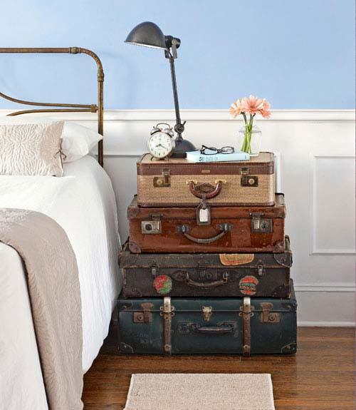 Decorating with repurposed items